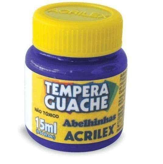 Tinta Guache VIOLETA 15ml 516 - Acrilex
