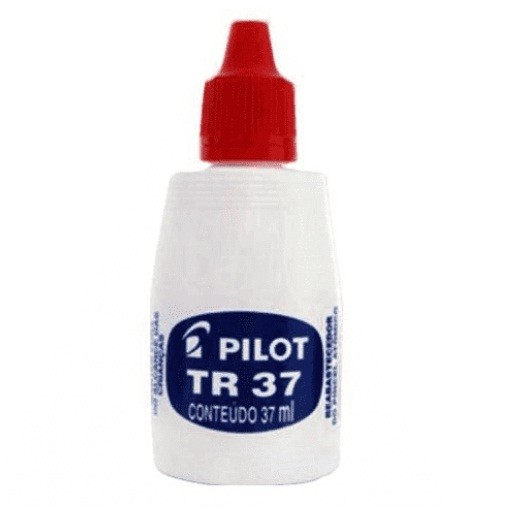 Tinta para Pincel Atomico Tr37 Vermelha - Pilot (12 Unidades)
