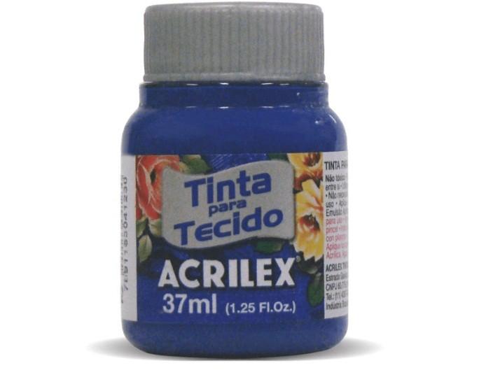 Tinta Para Tecido Fosca AZUL COBALTO 37ml 502 - Acrilex