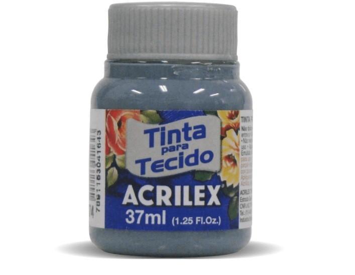 Tinta Para Tecido Fosca CINZA LUNAR 37ml 574 - Acrilex