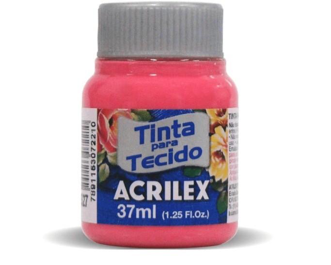 Tinta Para Tecido Fosca PINK 37ml 527 - Acrilex