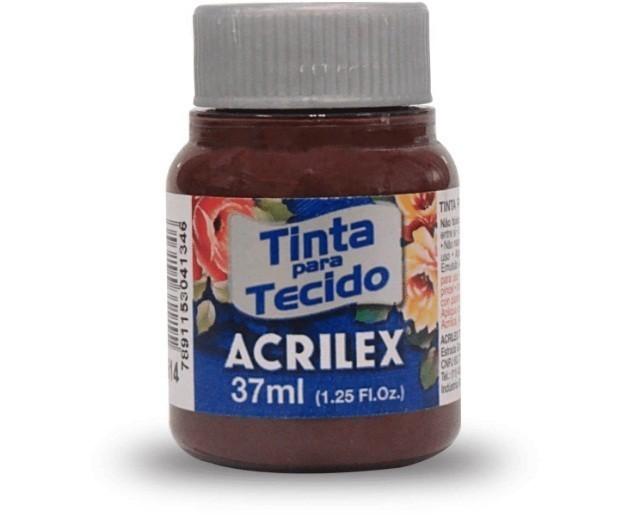 Tinta Para Tecido Fosca TERRA QUEIMADA 37ml 514 - Acrilex