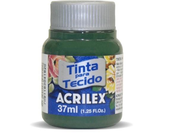 Tinta para Tecido Fosca VERDE PINHEIRO 37ml 546 - Acrilex