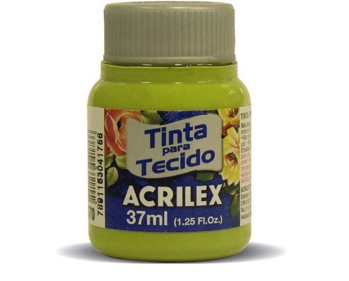 Tinta para Tecido Fosca VERDE PISTACHE 37ml 570 - Acrilex