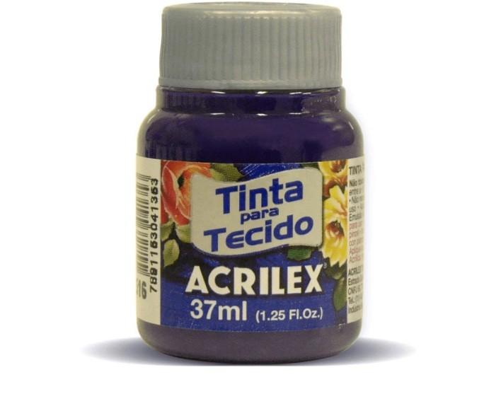 Tinta para Tecido Fosca VIOLETA 37ml 516 - Acrilex