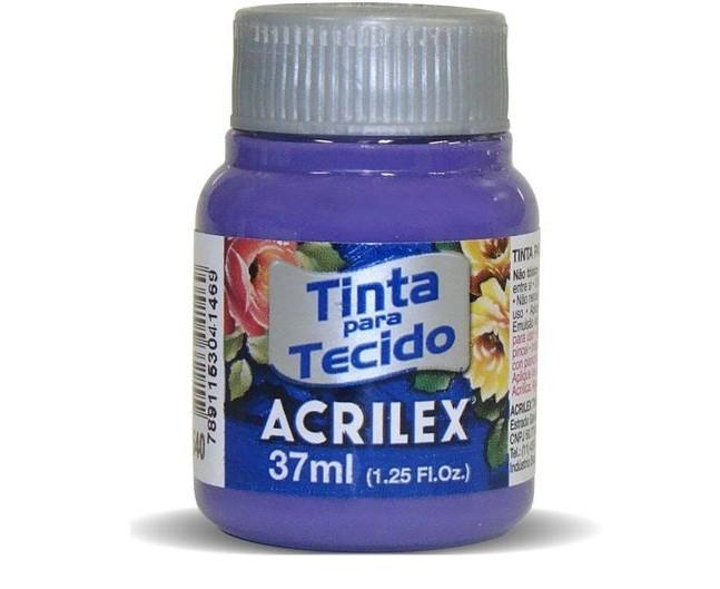 Tinta Para Tecido Fosca VIOLETA COBAL 37ml 540 - Acrilex
