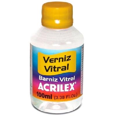 Verniz Vitral 100ml Incolor - Acrilex