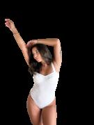 Body Camélia Off-White