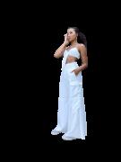 Calça Pantalona Cloe Off-white