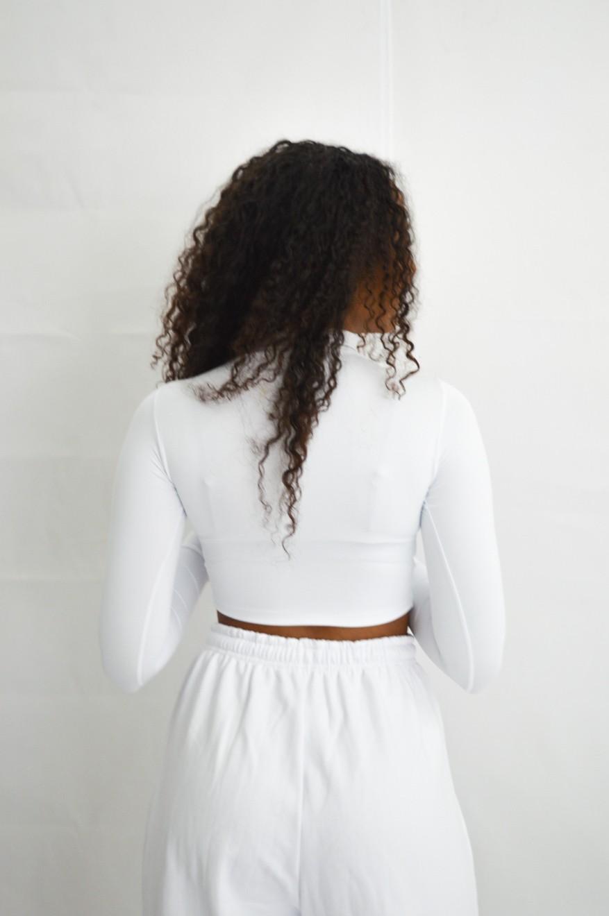 Cropped Gola Branco