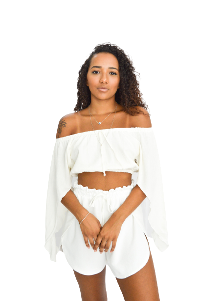 Cropped Jully Off-white