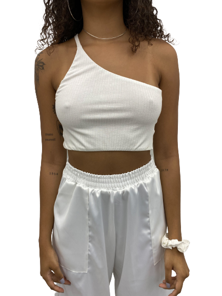 Cropped Lis Off-white