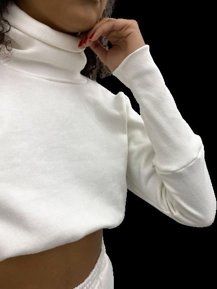 Cropped Margarida Off-white