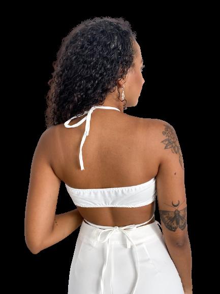 Cropped Nalu Off-white