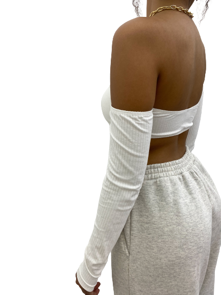 Cropped Zoe Off-White