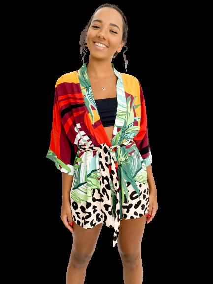 Kimono Pentani Estampado