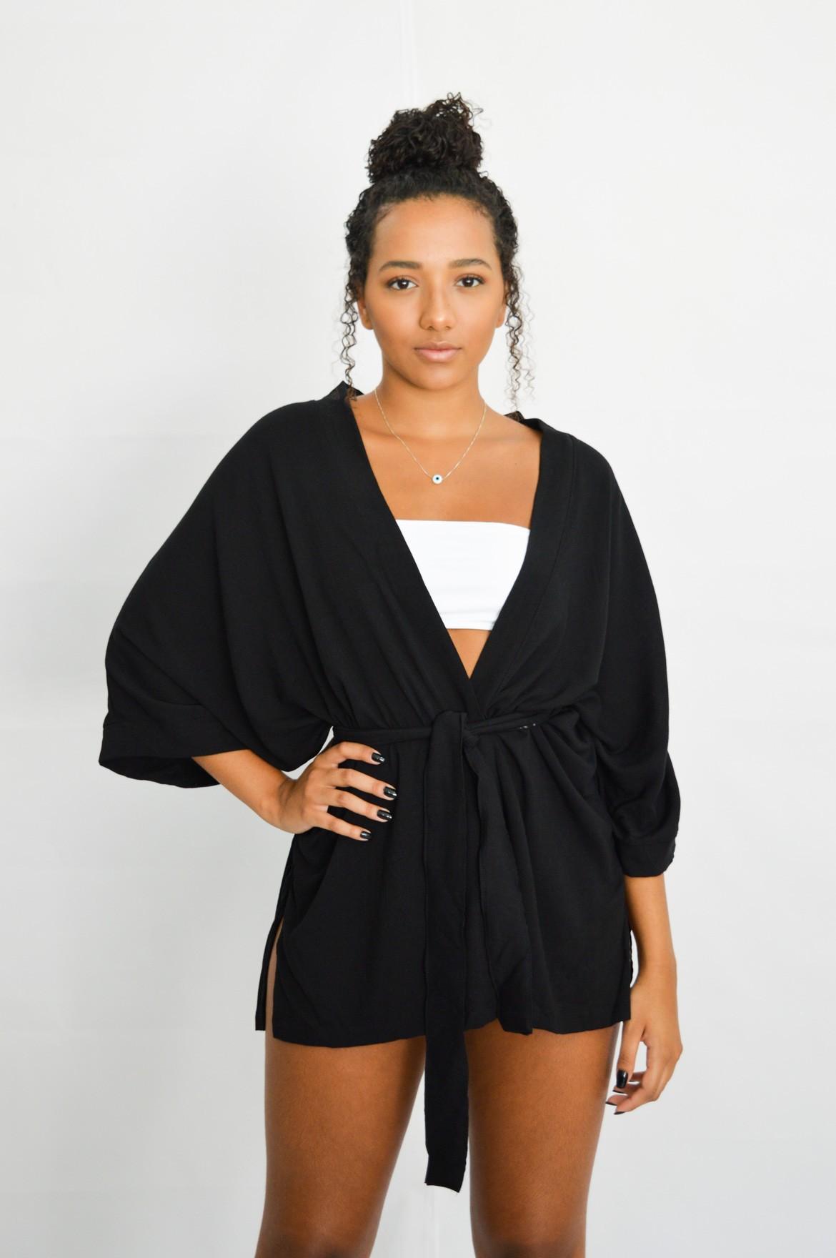 Kimono Pentani Preto
