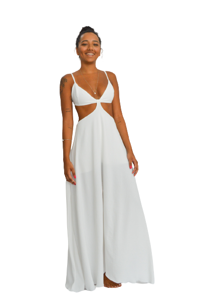 Vestido Oahu Off-White