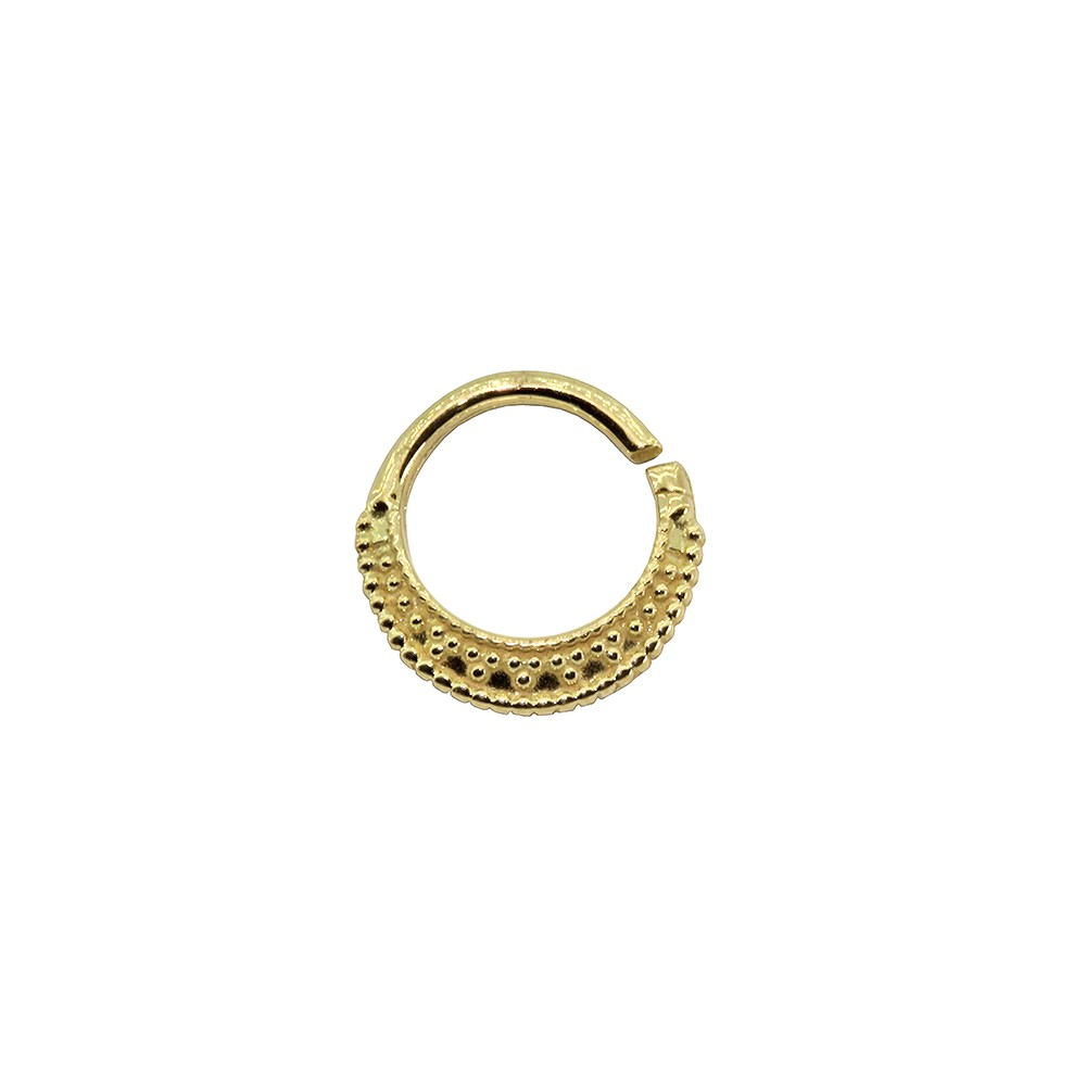 Piercing Argola em Ouro 18k  Helix - Daith