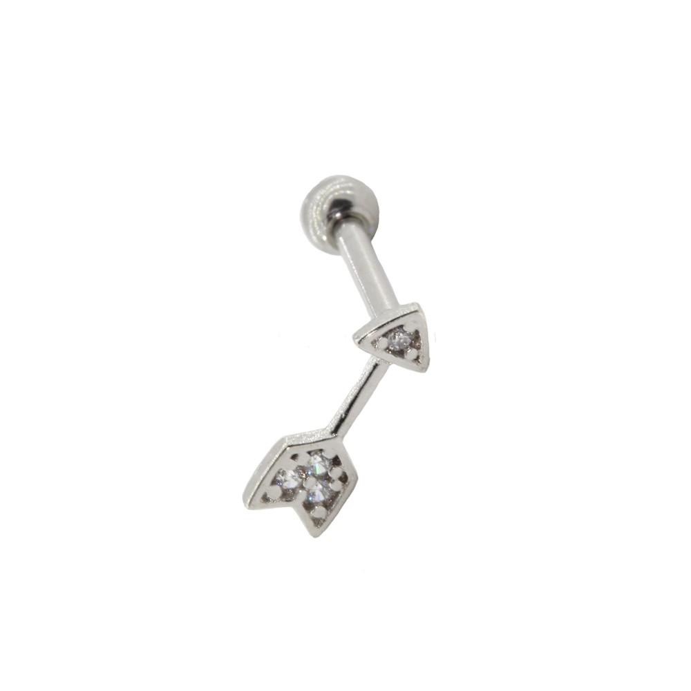 Piercing Helix Prata 925 Flecha