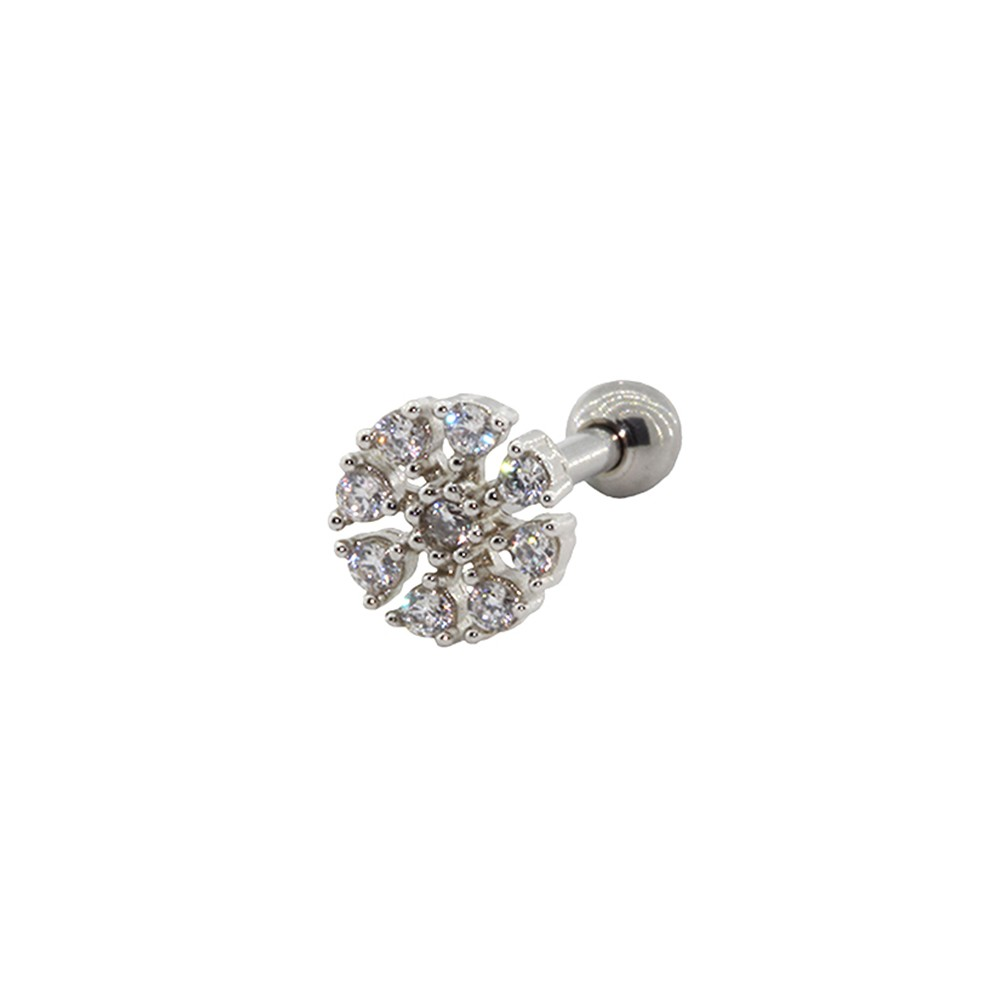 Piercing Helix Prata 925 Flor