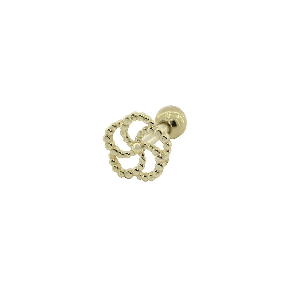 Piercing de Cartilagem em Ouro 18k Aspiral