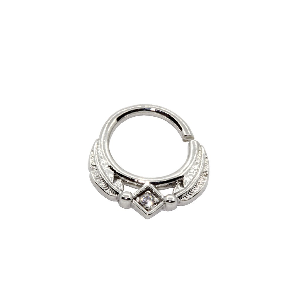 Piercing Argola Helix  Pena de Prata 925