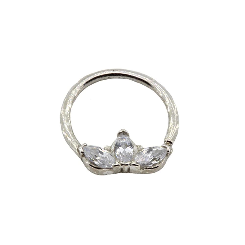 Piercing Helix Coroa de Prata 925 Argola