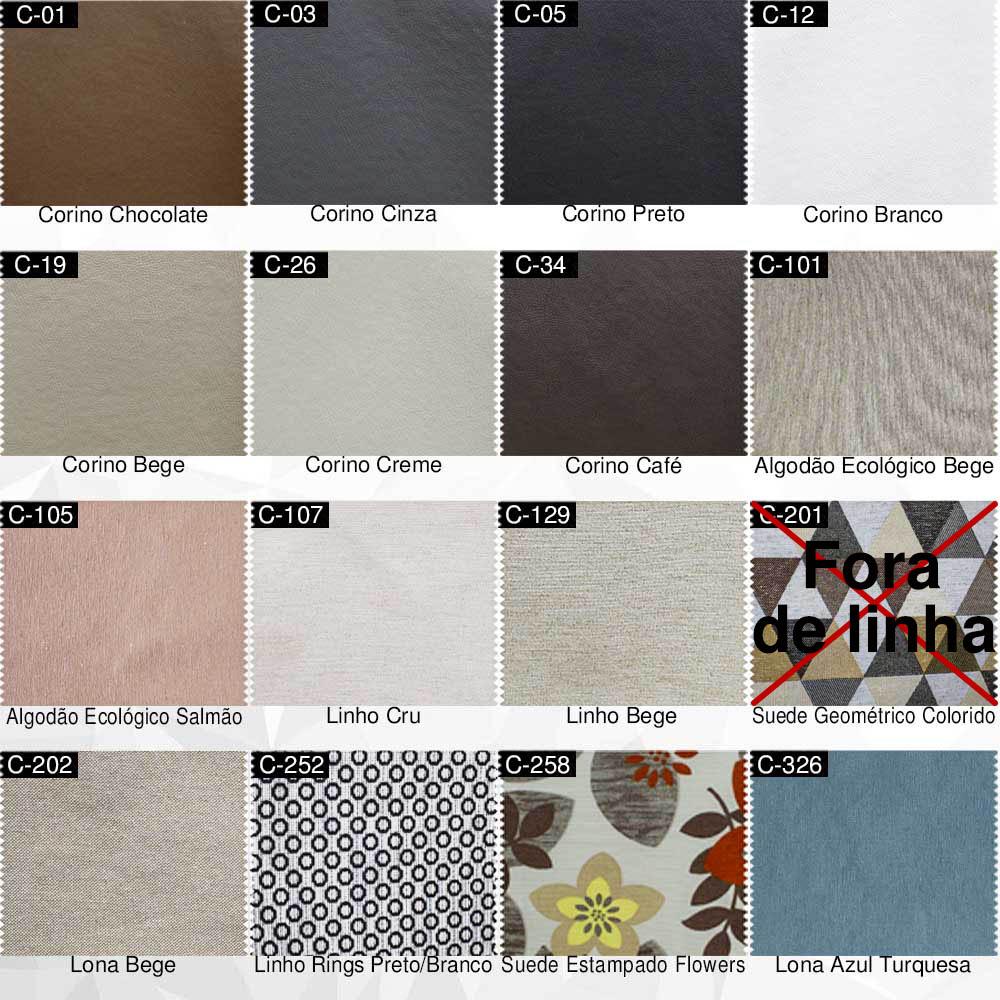 Catálogo de Cores e Tecidos - casaepoltrona