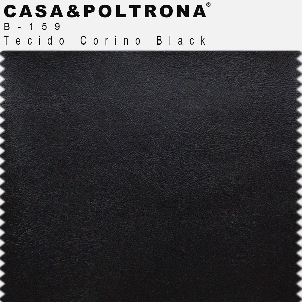 Kit 02 Poltronas Jade Base Giratória Giromad Corano Black - CasaePoltrona