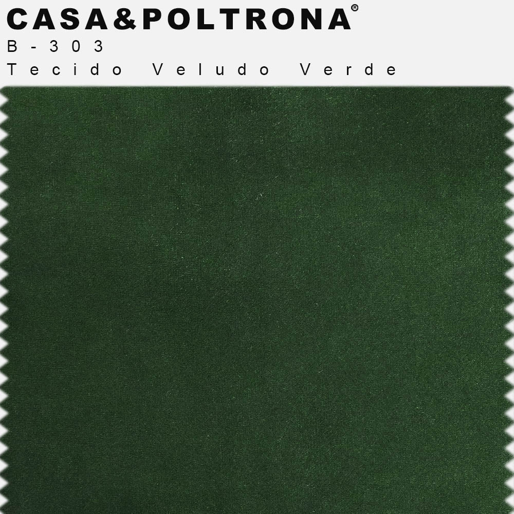 Poltrona Decorativa Jade Base Giratória Giromad Veludo Verde - CasaePoltrona