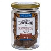 Bombom crocante de amendoim zero açúcares 140g