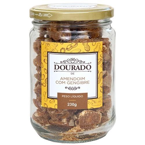 Amendoim com gengibre 230g