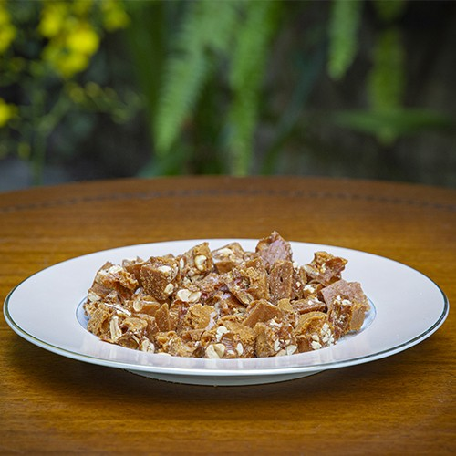 Amendoim com gengibre 500g - Granel