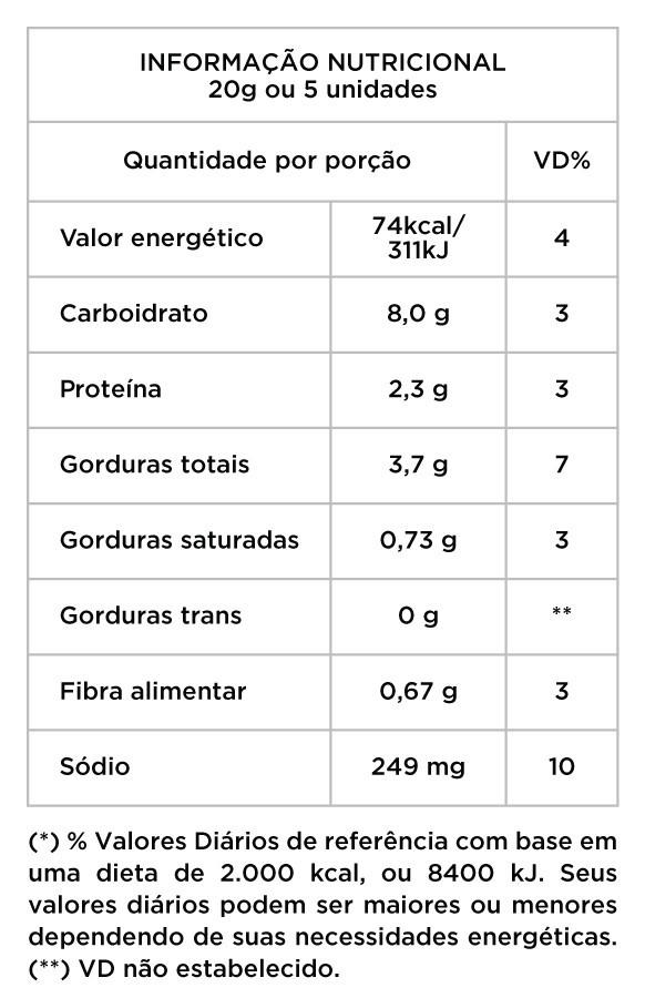 Amendoim zero açúcares 500g - Granel