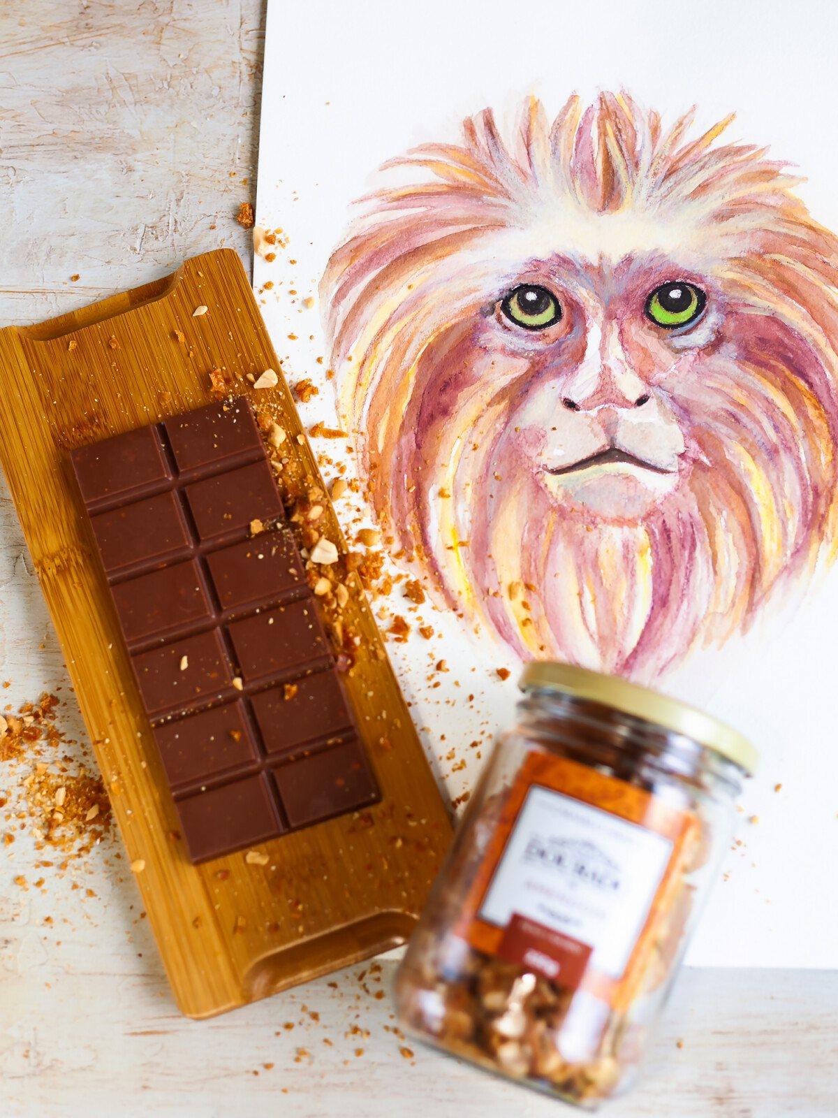Barra de Chocolate de Pé de Moleque - 65g
