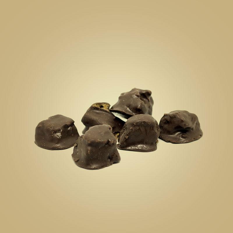 Bombom crocante de amendoim com chocolate 500g