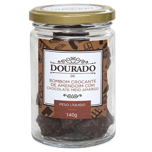 Bombom crocante de amendoim com chocolate 140g