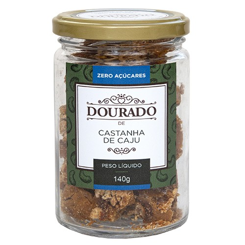 Castanha de Caju Zero Açúcares 140g