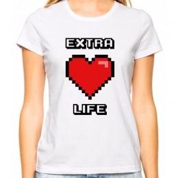 Camiseta Feminina Geek Extra Life