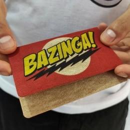 Carteira Fininha RG Bazinga - Ecológica
