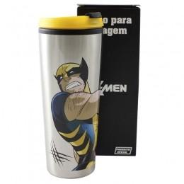 Copo para Viagem Wolverine Metal