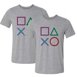 Dia dos Namorados: 2 Camisetas Botões