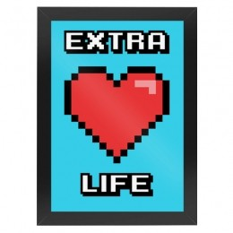 Quadro Geek Extra Life