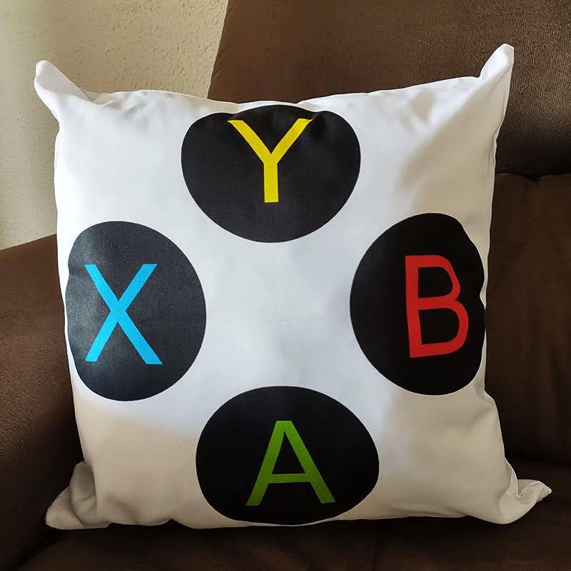 Almofada Controle Botões ABYX