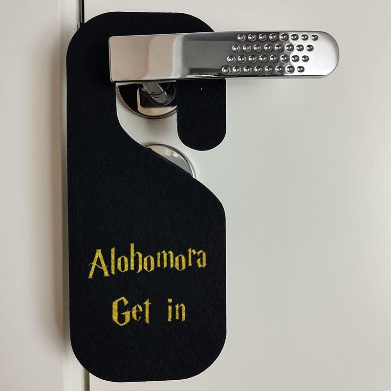 Aviso de Porta Alohomora