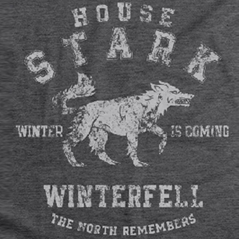 Camiseta Feminina Casa Stark