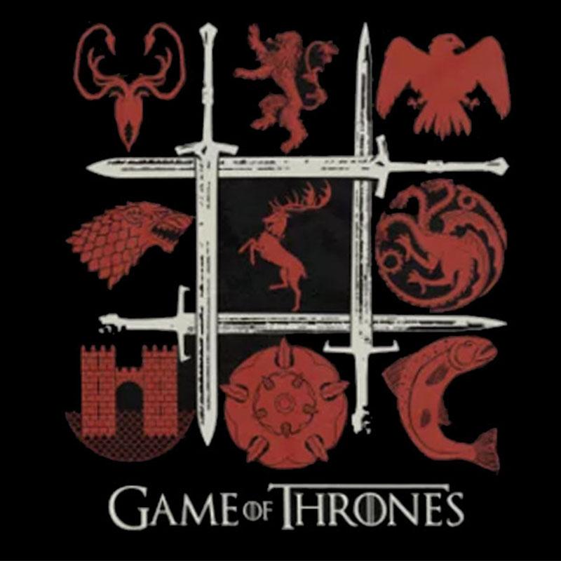 Camiseta Feminina Casas de Westeros