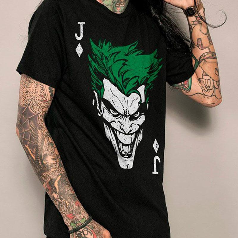 Camiseta Joker Card