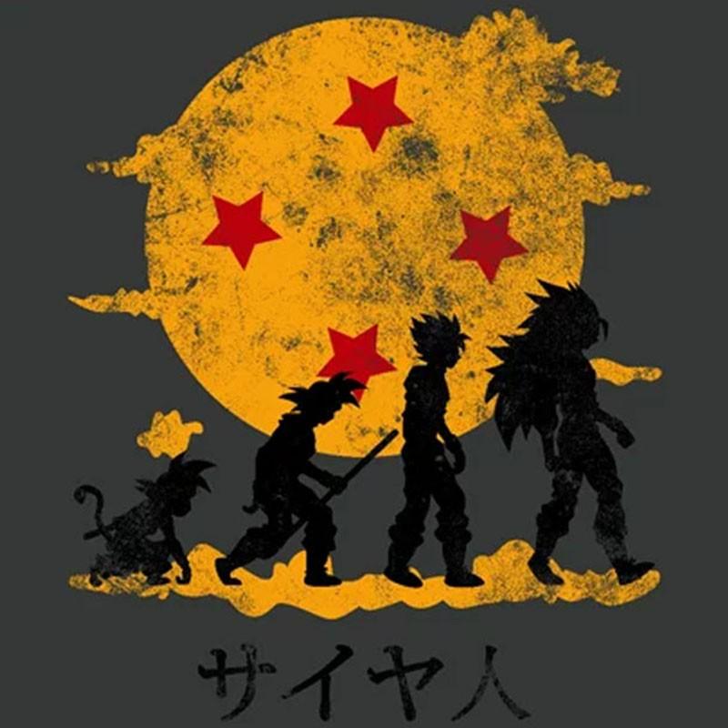 Camiseta Kamehameha Evolution